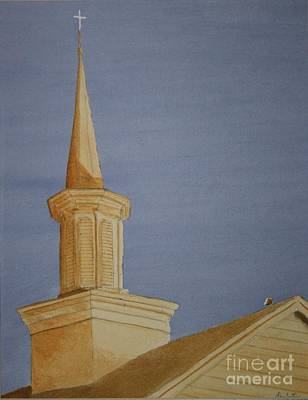 Painting - Evening Worship by Stacy C Bottoms
