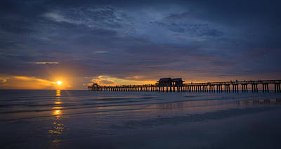 Photograph - Evenings End by Nick  Shirghio