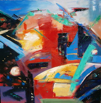 Abstract Painting - Event by Gary Coleman