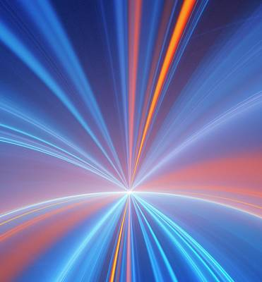 Relativity Photograph - Event Horizon Conceptual Illustration by David Parker