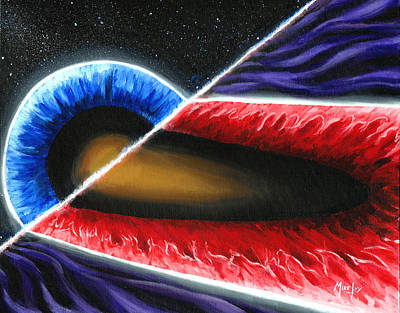 Painting - Event Horizon by Michael Ivy