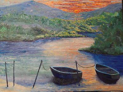 Robert Schmidt Painting - Eventide by Robert Schmidt
