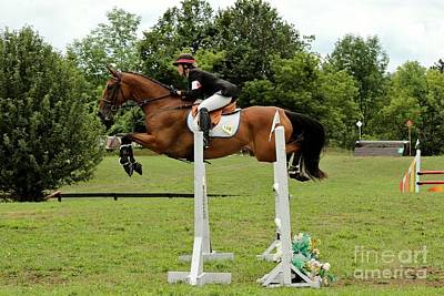 Photograph - Eventing Jumper by Janice Byer