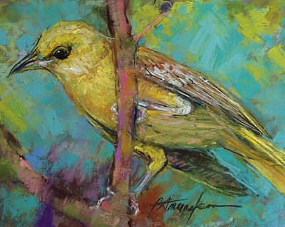 Pastel - Ever Watchful by Beverly Amundson