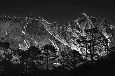 Everest Wall Art - Photograph - Everest View by Sorin Tanase