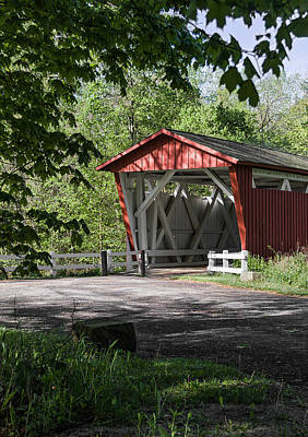 Photograph - Everett Rd Covered Bridge by Dale Kincaid