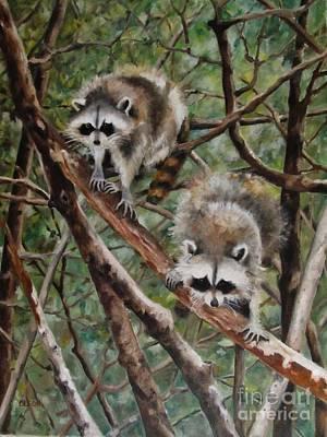 Painting - Everglade Babies by Karen Olson