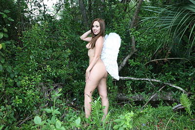 Photograph - Everglades City Florida Angel 2566 by Lucky Cole