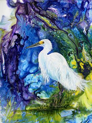 Everglades Fantasy Art Print