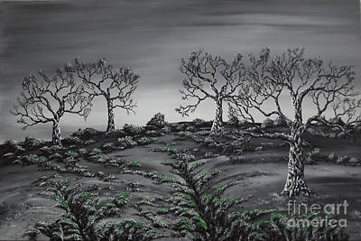 Painting - Evergreen by Kenneth Clarke