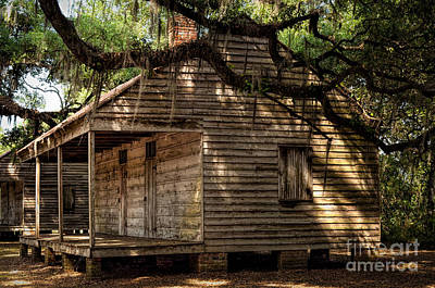 Photograph - Evergreen Plantation Slave Quarters by Kathleen K Parker