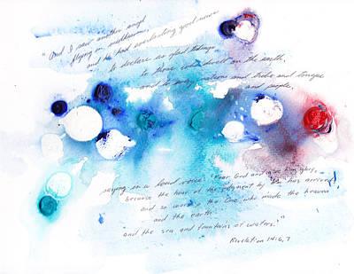 Everlasting Good News Art Print by B L Qualls