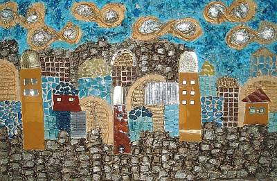 Israeli Mixed Media - Everlasting Holiness Of Jerusalem   by Reli Wasser