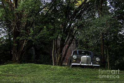 Photograph - Every Farm Needs A Mercedes by Curtis Dale