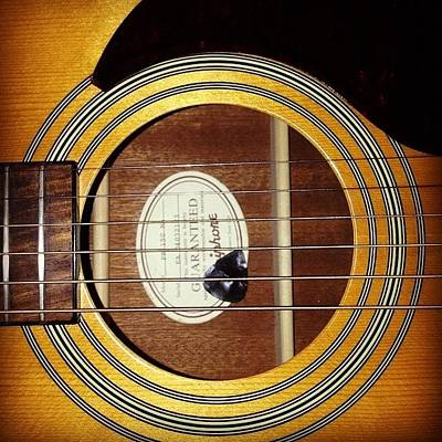 String Instrument Wall Art - Photograph - Guitar  by Holly Ochieng
