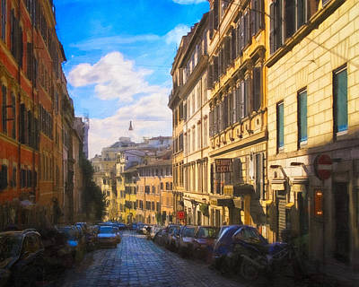 Photograph - Everyday Italy - Streets Of Rome by Mark E Tisdale