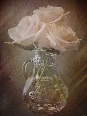 Photograph - Everything Comes By Being - Vintage Flower Art by Jordan Blackstone