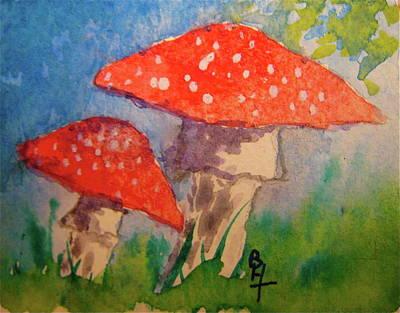 Everything Gets Brighter Art Print by Beverley Harper Tinsley