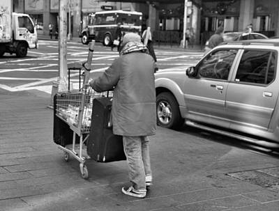 Crosswalk Photograph - Everything I Own by Dan Sproul