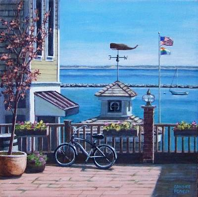 P Town Painting - Everything Provincetown by Candice Ronesi