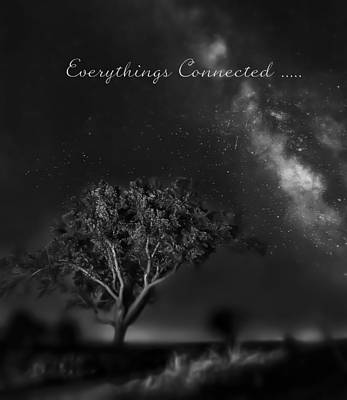 Everythings Connected Art Print