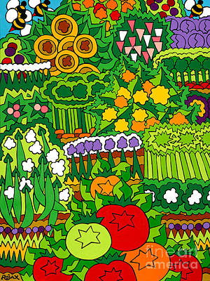 Eve's Garden Art Print by Rojax Art