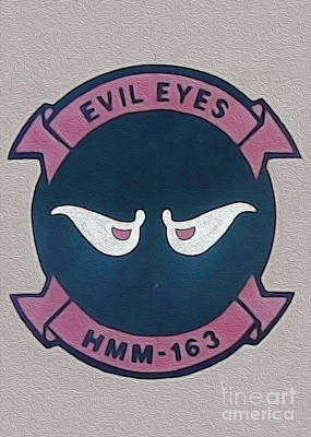 Painting - Evil Eyes by Gregory Dyer