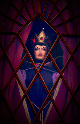Evil Queen Print by Timothy Ramos