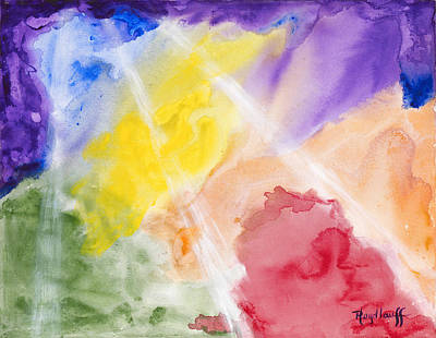 Painting - Evolving by Pat Heydlauff