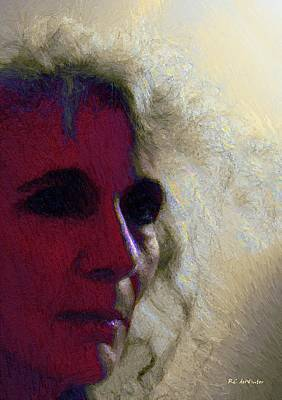 Eerie Painting - Evolving by RC deWinter