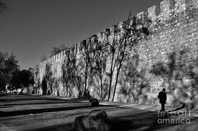 Photograph - Evora - Portugal - Man And Wall by Carlos Alkmin
