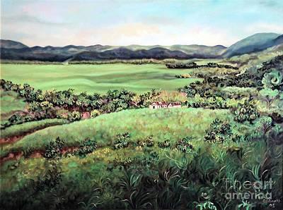 Painting - Ewarton Scene 1 by Ewan  McAnuff