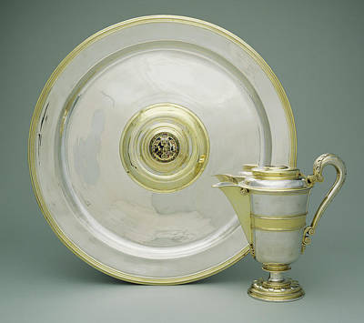 Ewer And Basin Abraham Pfleger I, German Print by Litz Collection