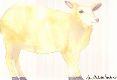 Ewe's Not Fat Ewe's Fluffy Art Print