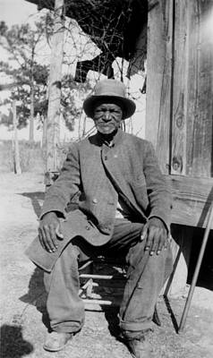 Ex-slave Wes Brady - Texas 1937 Art Print by Mountain Dreams