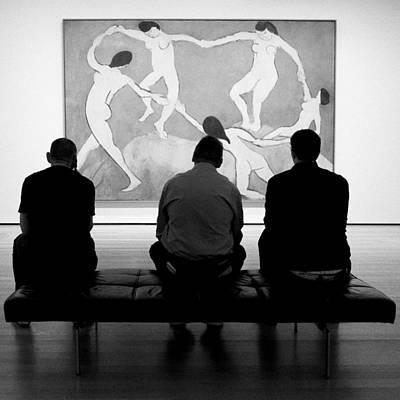 Photograph - Examining The Dance by Cornelis Verwaal