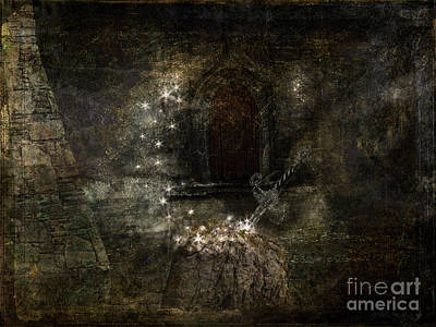 Digital Art - Excalibur by Patricia Griffin Brett