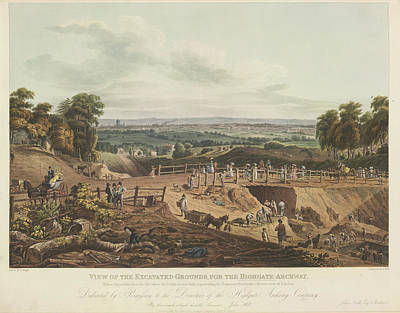 Grounds For Photograph - Excavations For Highgate Archway by British Library