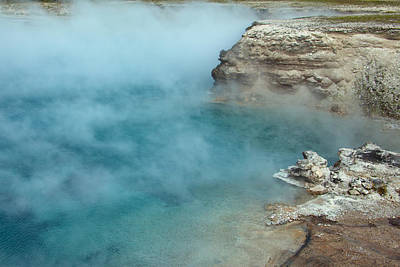 Photograph - Excelsior Geyser Crater by Scott Sanders