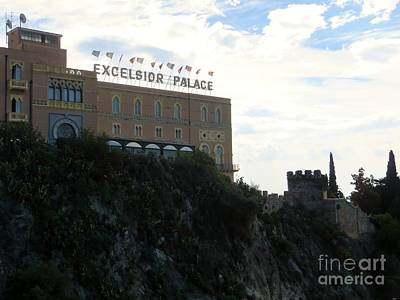 Photograph - Excelsior Palace   Taormina by Tim Townsend