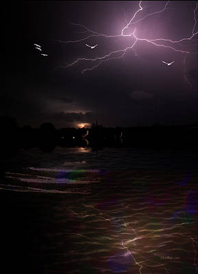 Photograph - Exciting-frightning-lightning by Ericamaxine Price