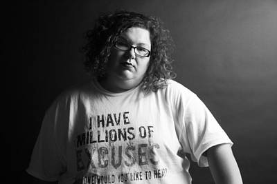 Self Portraits Photograph - Excuses by Mary Ely