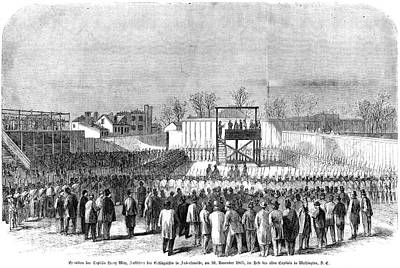 Prison Painting - Execution Of Henry Wirzhenry Wirz by Granger