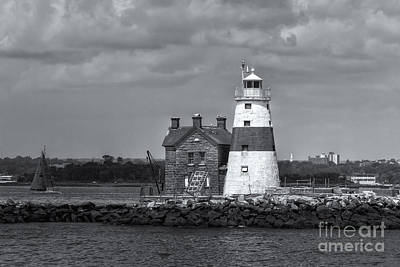 Photograph - Execution Rocks Lighthouse II by Clarence Holmes
