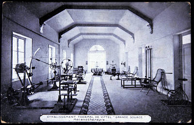 Exercise Room At A Spa Art Print by Cci Archives/science Photo Library