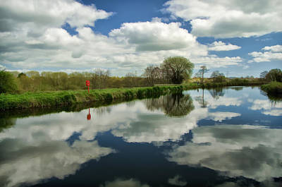 Exeter Canal Art Print