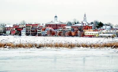 Photograph - Exeter In Winter by Marcia Lee Jones