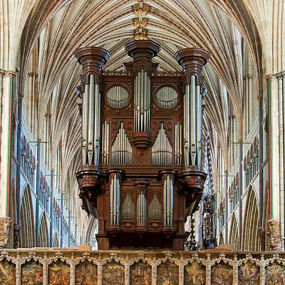 Photograph - Exeter's King Of Instruments by Jenny Setchell