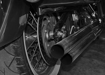 Exhaust Art Print by Cherie Haines