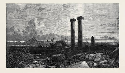 Exhibition Of The British Institution Opened February 7 Art Print by English School